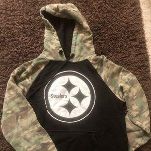 Camo Pittsburgh Steelers Hoodie